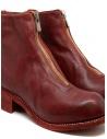 Stivali Guidi PL1 rossi in pelle di cavallo pieno fiore PL1 SOFT HORSE FG 1006T acquista online