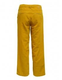 Napapijri pantaloni chino Mora velluto giallo prezzo