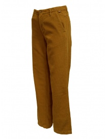 Napapijri velvet golden brown Mora trousers