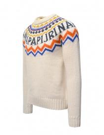 Napapijri crew-neck jumper Dune white