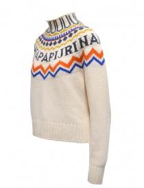 Napapijri maglione collo alto Dune bianco