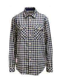 Napapijri camicia Gillys a quadri blu e beige N0YIZP21C GILLYS BEIGE CHECK order online