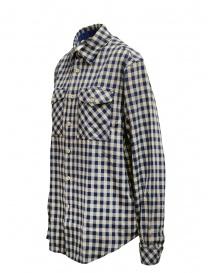 Napapijri camicia Gillys a quadri blu e beige
