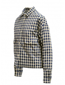 Napapijri Gires blue and beige checked jacket