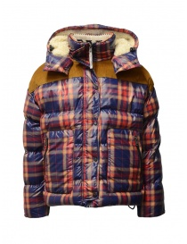 Napapijri puffer jacket Antero Check for men N0YKC920C ANTERO W CHECK RED order online
