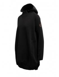 Napapijri Ze-Knit felpa Ze-K245 con cappuccio nera