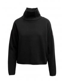 Napapijri Ze-Knit felpa nera collo alto online