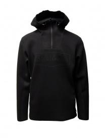 Napapijri Ze-Knit felpa Ze-K232 con cappuccio nera online