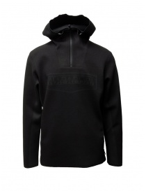Napapijri Ze-Knit Ze-K232 black sweater with hood N0YKBG041 ZE-K232 BLACK order online