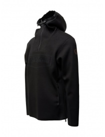 Napapijri Ze-Knit felpa Ze-K232 con cappuccio nera
