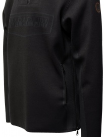 Napapijri Ze-Knit felpa Ze-K232 con cappuccio nera maglieria uomo prezzo