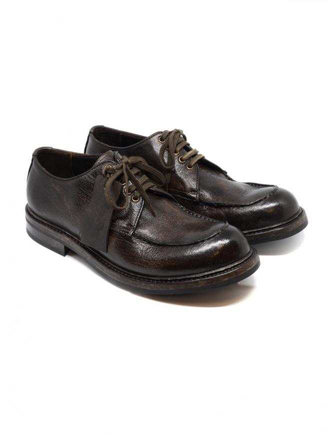 Shoto Deer Dive brown shoes 2439 DEER DIVE 92 WASH.GO GOMM mens shoes online shopping