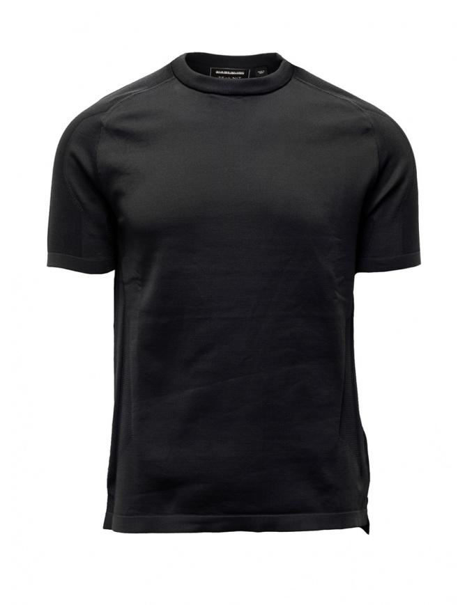 Napapijri Ze-Knit Ze-K240 black t-shirt N0YKBM041 ZE-K240 BLACK mens t shirts online shopping