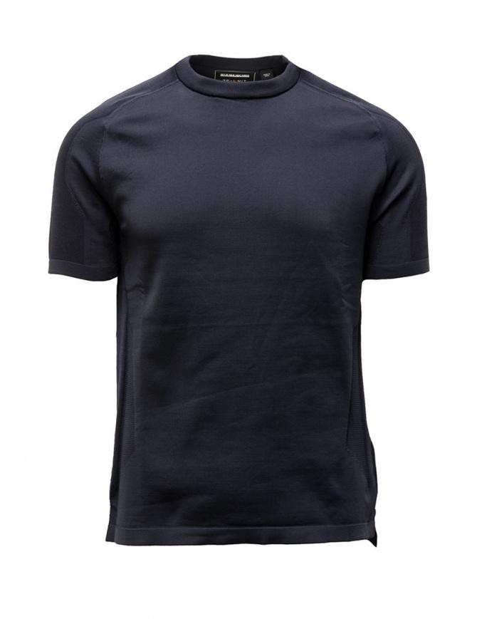 Napapijri Ze-Knit t-shirt Ze-K240 blue N0YKBM176 ZE-K240 BLU MARINE mens t shirts online shopping