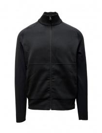 Giubbini uomo online: Napapijri Ze-Knit giacca nera con cerniera ZE-K235