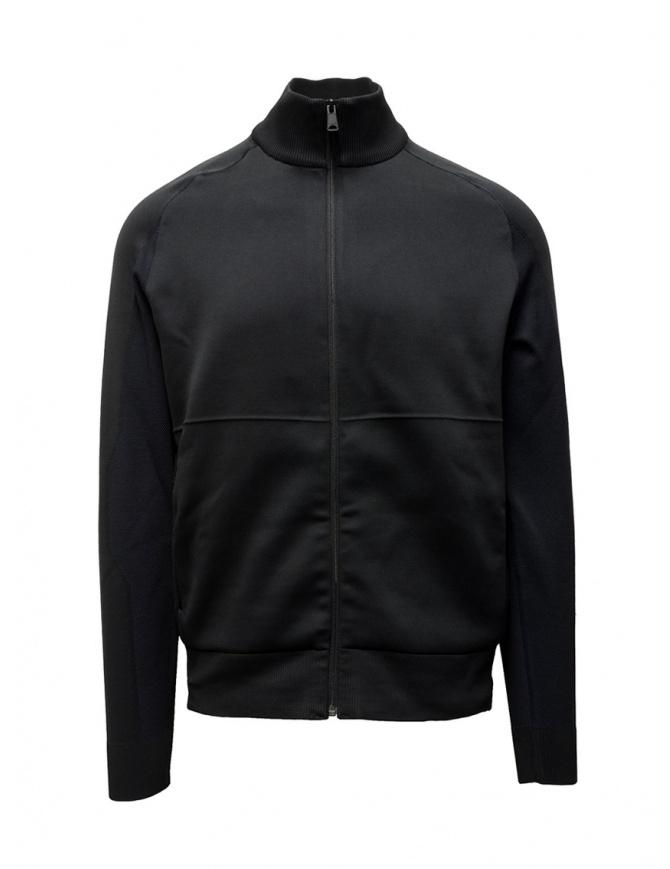Napapijri Ze-Knit black jacket with zipper ZE-K235 N0YKBN041 ZE-K235 BLACK mens jackets online shopping