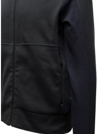 Napapijri Ze-Knit black jacket with zipper ZE-K235 mens jackets buy online