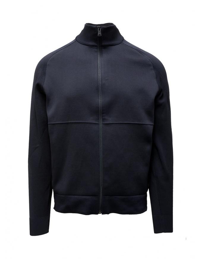 Napapijri Ze-Knit jacket Ze-K235 black N0YKBN176 ZE-K235 BLU MARINE mens jackets online shopping