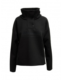 Napapijri Ze-Knit Ze-K243 black jacket with buttons N0YKBP041 ZE-243 BLACK order online