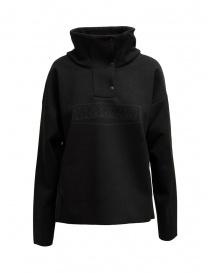 Giubbini donna online: Napapijri Ze-Knit giacca Ze-K243 nera con bottoni