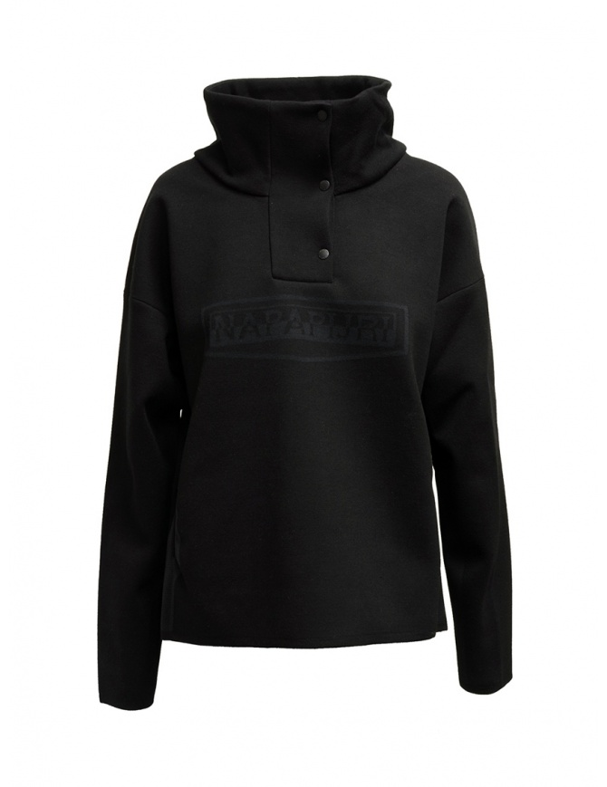 Napapijri Ze-Knit giacca Ze-K243 nera con bottoni N0YKBP041 ZE-243 BLACK giubbini donna online shopping