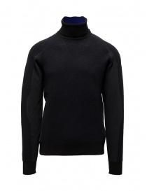 Maglieria uomo online: Napapijri Ze-Knit Ze-K237 felpa collo alto nera
