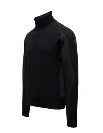 Napapijri Ze-Knit Ze-K237 black high collar sweatshirt