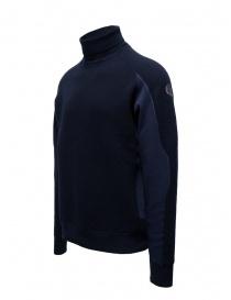 Napapijri Ze-Knit Ze-K237 blue high collar sweatshirt