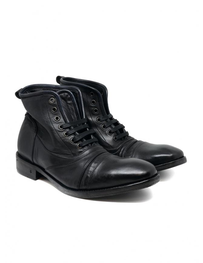 John Varvatos Fleetwood black boots F1976V2 Y831 001 BLACK mens shoes online shopping