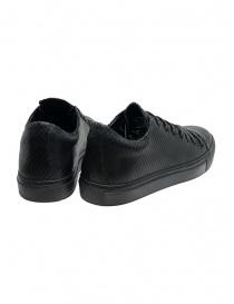 John Varvatos sneakers Reed nere effetto squamato prezzo
