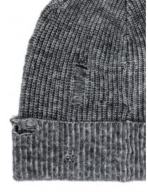 John Varvatos berretto Slouchy fit grigio