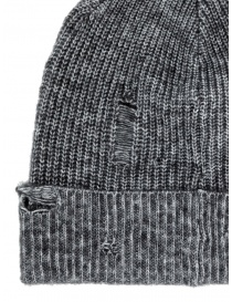 John Varvatos Slouchy fit grey beanie buy online