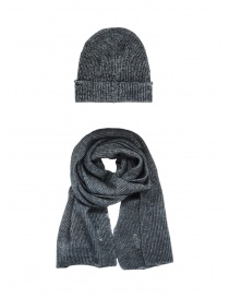 John Varvatos Slouchy fit grey beanie price