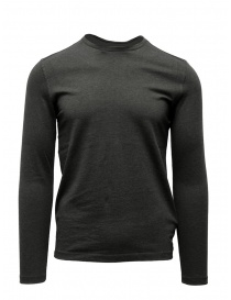 John Varvatos maglietta a maniche lunghe grigia online