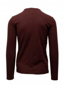 John Varvatos burgundy long sleeved T-shirt price