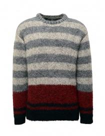 Maglieria uomo online: John Varvatos maglione da uomo jacquard a righe
