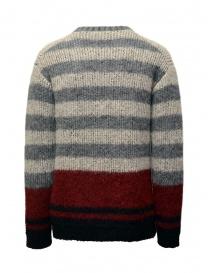 John Varvatos maglione da uomo jacquard a righe prezzo