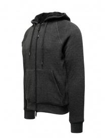John Varvatos Trenton Sherpa gray hoodie