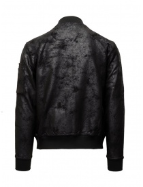 John Varvatos black bomber jacket with vintage effect mens jackets buy online