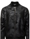 John Varvatos black bomber jacket with vintage effect shop online mens jackets