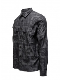 John Varvatos bandana grey shirt