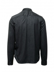 John Varvatos snap front grey shirt price