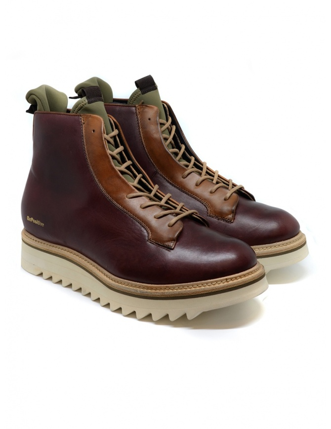 BePositive Master BDX brown ankle boots 9FMOLA01/LEA/BDX-MASTER mens shoes online shopping