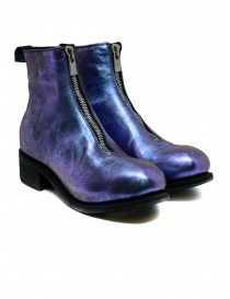 Womens shoes online: Guidi PL1 Nebula laminated horse leather boots
