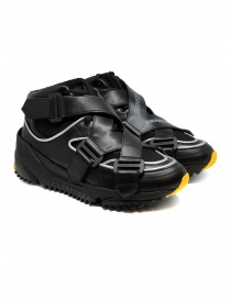 Mens shoes online: Umprecious No Limit black yellow sneakers