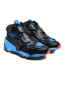 Mens shoes online: Umprecious No Limit black blue sneakers