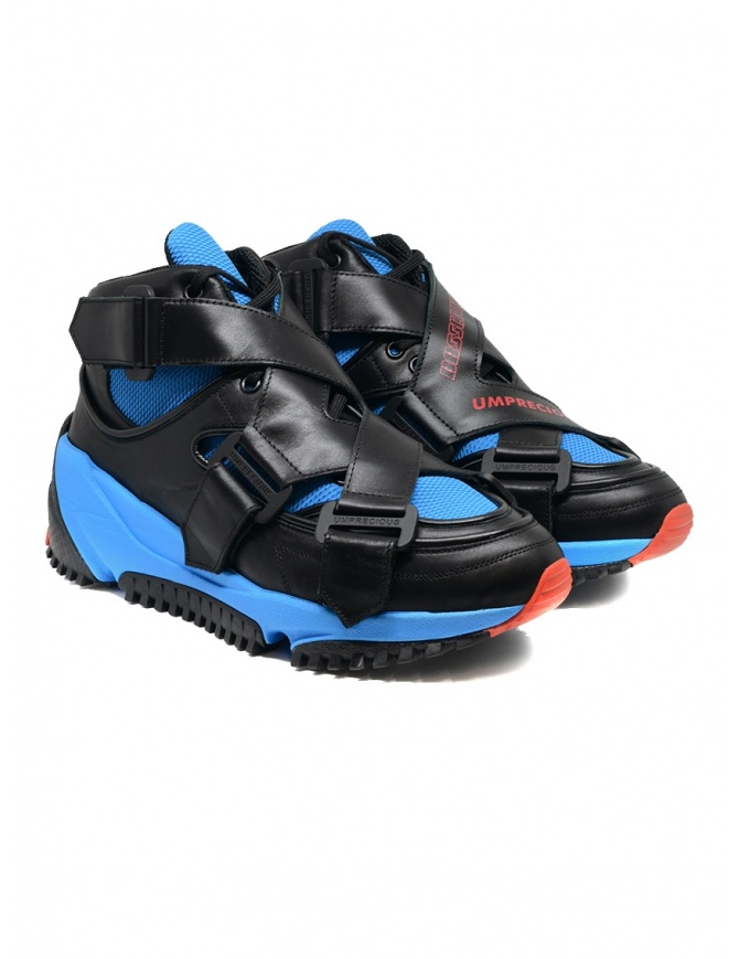 Umprecious No Limit sneaker blu nere PA NO LIMIT BLACK/BLUE calzature uomo online shopping