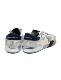 Golden Goose Superstar sneakers in white and black with grey star price