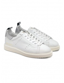 Golden Goose Starter sneakers in white with silver heel tab online