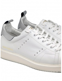 Golden Goose Starter bianche con tallone argento calzature uomo acquista online